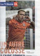Programme Du Match De Ligue Des Champions LYON / BARCELONE 19/02/2019 - Habillement, Souvenirs & Autres