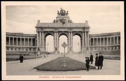 BRUXELLES :  Arcades  Du Cinquantenaire - Monuments, édifices
