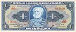 1 Um Cruzeiros Banknote Brasilien - Brésil