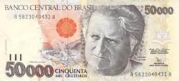 50.000 Cinqüenta Cruzeiros Banknote Brasilien - Brésil