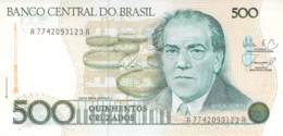 5oo Quinhentos Cruzados Banknote Brasilien - Brésil