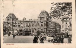 BRUXELLES :  Place Rogier - Gare Du Nord - Chemins De Fer, Gares