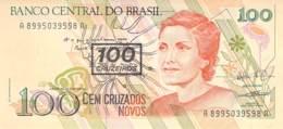 100 Cem Cruzeiros Banknote Brasilien - Brésil