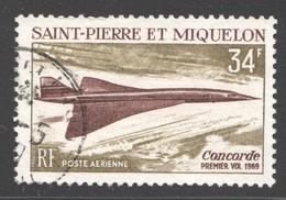 SPM  1969  Concorde, Yv PA 43 - Poste Aérienne