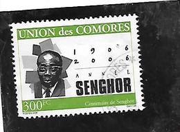TIMBRE OBLITERE DES COMORES DE 2006 N° MICHEL 1809 - Comores (1975-...)