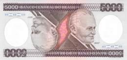 5000 Cruzeiro Banknote Brasilien - Brésil