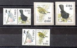 Series De Irlanda N ºYvet 1064/65+1066/67+1136 ** PAJAROS (BIRDS) - 1949-... República Irlandése