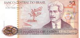 100 Cem Cruzados Banknote Brasilien - Brésil