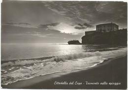 W1389 Bonifati (Cosenza) - Cittadella Del Capo - Tramonto Sulla Spiaggia - Sunset Coucher - Panorama / Viaggiata 1965 - Autres Villes