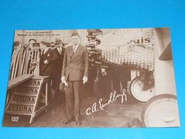 Aviation ) C.A. LINDBERGH - Taversée De L'atlantique Le 20/21 Mai 1927  - EDIT : Dix - Aviateurs