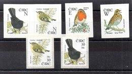 Sereis De Irlanda Nº Yvert 1359/60+1381/82+1383+1384 ** PAJAROS (BIRDS) - 1949-... República Irlandése