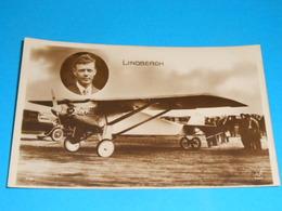 Aviation )  LINDBERGH - N° 192 - Spirit St-louis - Taversée De L'atlantique Le 20/21 Mai 1927  - EDIT : Dix - Aviateurs