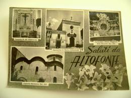 SALUTI DA ALTOFONTE  PALERMO  VIAGGIATA  COME DA FOTO  BOLLO RIMOSSO - Palermo