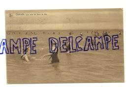 """Côte Belge. Jeunes Nageuses Ostende. """"Les Joies Du Bain De Mer"""" NELS. 1930. Animée - Vieux Papiers"""