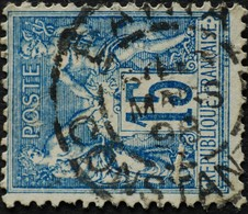 Sage N°101 Type Il O.(CAD) DAIRA.Mars 1898. - 1876-1898 Sage (Type II)