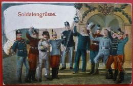 SOLDATENGRUSSE - K.u.K. - Oorlog 1914-18