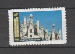"""FRANCE / 2019 / Y&T N° AA 1674A ? ** : """"Histoires De Styles"""" (Château De Chambord) TVP LP De Feuille Adhésive - France"""