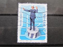 *ITALIA* USATI 2008 - POLIZIA LOCALE - SASSONE 3063- LUSSO/FIOR DI STAMPA - 6. 1946-.. Repubblica