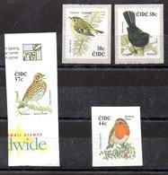 Series De Irlanda N ºYvert 1412/13+1438+1439 ** PAJAROS (BIRDS) - 1949-... República Irlandése