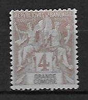Grande Comore - Yvert N° 3 Neuf Sans Gomme - Grote Komoren (1897-1912)