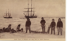 Polar Expedition Types Of Eskimos And Dogs Used By Arctic Explorers Perry Expedition Polaire - Groenland
