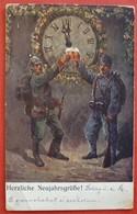 HERZLICHE NEUJAHRGRUSSE - K.u.K. KORPSTRAIN GRUPPENKOMMANDO II./ 13 - War 1914-18