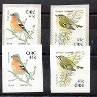 Serie De Irlanda N ºYvert 1436/37+1436a/37a ** PAJAROS (BIRDS) - 1949-... República Irlandése