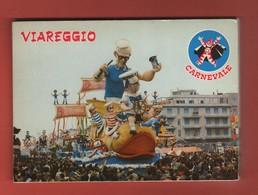 CP50 EUROPE ITALIE VIAREGGIO Carnavale Dépliant Complet De 10 Cartes Postales - Viareggio