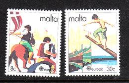 "Malta  -1981"" Folklore "". Giostra E Carosello A Cavallo, Joust And Medieval Tournament On Horseback.MNH - Giochi"