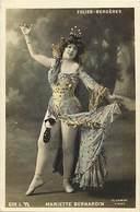 - Spectacle - Theatre - Artistes -ref C693 - Femmes - Femme - Artiste - Mariette Bernardin Des Folies Bergeres - - Artisti