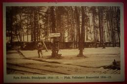 RGTS. KOMDO. STANDPUNKT 1916 - 17 K.u.K. - Guerre 1914-18
