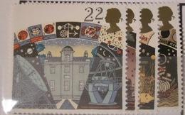 Grande-Bretagne - YT 1490 à 1493 ** Espace - Planètes - 1952-.... (Elizabeth II)