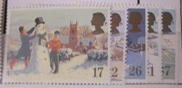 Grande-Bretagne - YT 1494 à 1498 ** Noel Neige - 1952-.... (Elizabeth II)