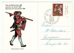 Suisse /Schweiz/Svizzera/Switzerland // Journée Du Timbre // 1960 //   Carte De La Journée Du Timbre Bern - Giornata Del Francobollo