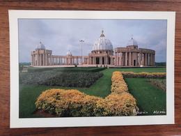 Cote D'Ivoire - Basilique Notre Dame De La Paix YAMOUSSOUKRO - Photo Maurice ASCANI - Côte-d'Ivoire