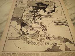 AFFICHE PHOTO  CARTE DE L EXTREME ORIENT 1939 - 1939-45