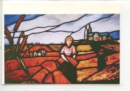 """Denis Picol Maitre Verrier """"Moisson En Beauce"""" (coll Mini-musée 1988) Métier - Arts"""