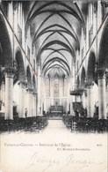 FLEMALLE-GRANDE - Intérieur De L'Eglise - Carte Précurseur, Oblitération De 1909 - Flémalle