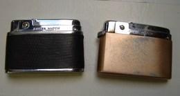 JL. 68. Deux Briquets Silver Match - Briquets