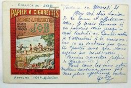 CPA COLLECTION JOB. AFFICHE 1914. Illustrateur Ng DUC THUC - Publicité