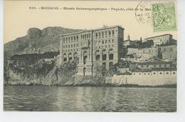 MONACO - Musée Océanographique - Façade, Côté De La Mer - Oceanografisch Museum