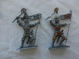 Soldat Miniature Médiéval En Plastique Souple - Armee