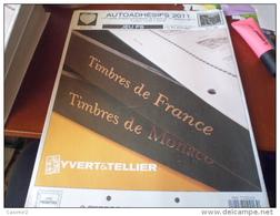 JEU FS YVERT 2011 AUTOADHESIFS  DU 510 AU 589 - Pre-printed Pages