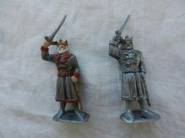 Soldat Miniature Médiéval En Plastique Souple - Army