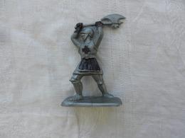 Soldat Miniature Médiéval En Plastique Souple - Leger