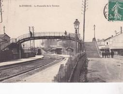 42 / SAINT ETIENNE / LA PASSERELLE DE LA TERRASSE - Saint Etienne