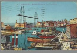 CPA 13 - Marseille - Bassin Du Carénage Et Pont Transbordeur - Non Classés