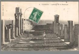 CPA Algérie - Tebessa - Intérieur De La Basilique - Otras Ciudades