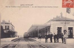 54 / IGNEY AVRICOURT / SUR LA FRONTIERE ALLEMANDE / GARE - Francia