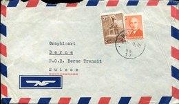 43028 Turkey, Cover Circuled 1949 To Switzerland - 1921-... République